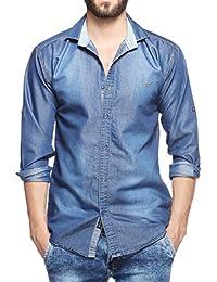 66aca4c17c Denim Men s Shirts  Buy Denim Men s Shirts online at best prices in ...