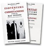 Esotérisme, occultisme, franc-maçonnerie et christianisme aux XIX et XXe siècles.