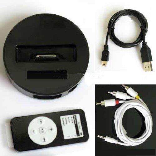 Dock Infrarot AV Video Output für iPhone 3G 3GS iPod Iphone 3 Gs Dock