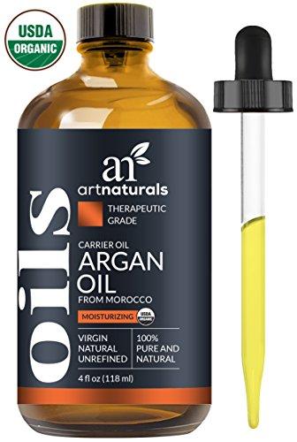 Avocado-Öl Mayonnaise (ArtNaturals Kaltgepresstes Reines Arganöl aus Marokko - (4 Fl Oz / 120ml) - Unberührt - 100% Argania Spinosa - Für Strapaziertes, und Trockenes Haar sowie zur Hautpflege - Anti-Aging)