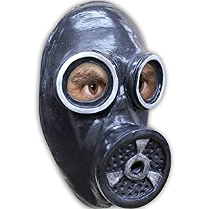 Générique Generic mahal641-un Gas Máscara de látex para Adultos-Talla única