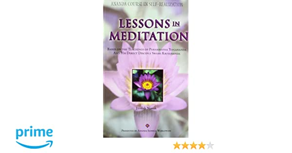 Amazon in: Buy Lessons In Meditation Book Online at Low