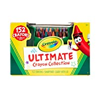 Crayola 52-0030-0-000 Ultimate Crayon Collection, Assorted, Standard