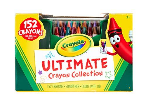 (Crayola 52-0030-0-000 Ultimate Collection Crayons Buntstifte-Set (152-teilig))