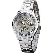 Vovotrade - Hombres Reloj Mejor Marca Lujo Hueco Esqueleto Automático Mecánico Reloj Hombres ...