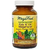 Megafood, DailyFoods, Kids N 'Us MegaFlora, 60 Kapseln (Ice)