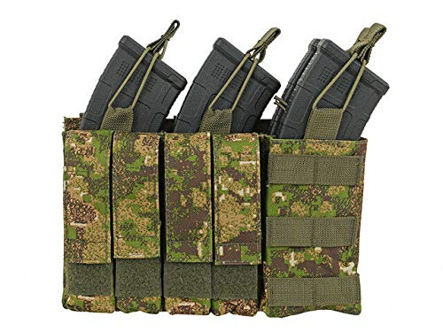 8FIELDS Triple AK Mag/Pistol Pouch Panel (4 Plus 4) Magazin Tasche für Airsoft/Softair -