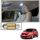 #10: Vheelocityin 12 LED Roof Light Car Dome Light Reading Light For Maruti Suzuki Swift New