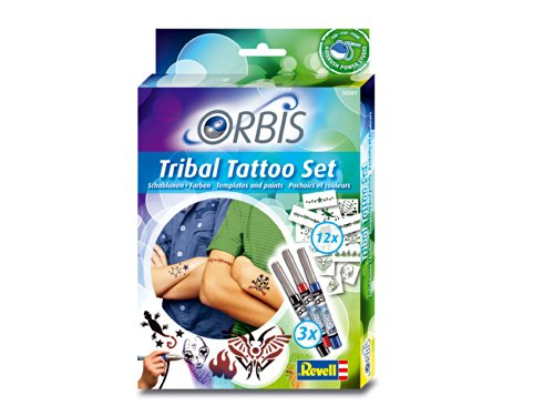 Orbis - Airbrush für Kinder   30301 Tribal Tattoo Set