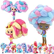 Russian candylocks hair doll blind box Marshmallow braided doll blind box toy Random Color