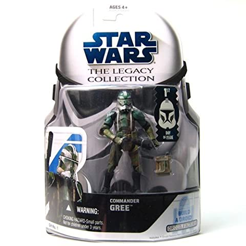 Star Wars Clone Wars Legacy Collection Commander Gree