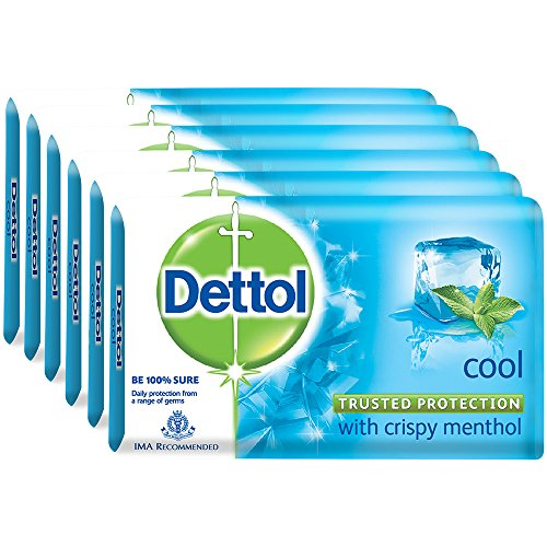 Dettol Cool Soap – 125 g (Pack of 6)