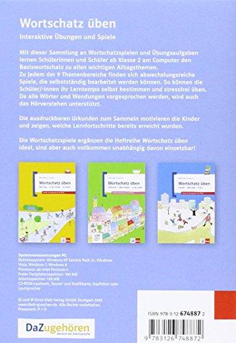 Wortschatz üben: Interaktive Übungen und Spiele: 3 CD-ROMs + Booklet (Meine Welt auf Deutsch) - 2