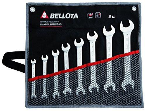 Bellota 6490-8 BS Juego 8 Llaves fijas en Bolsa