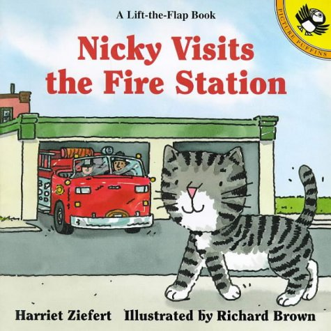 Nicky visits the fire station