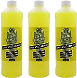 CLEANEXTREME Grillanzünder Gel - 3 x 1 Liter - Flüssiger Grillanzünder für Holzkohle, Grillkohle, Grillbriketts. Sicheres Anzünden ohne Stichflamme