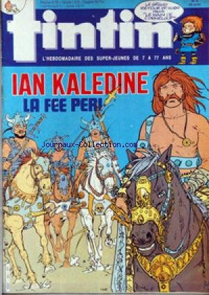 TINTIN [No 19] du 07/05/1985 - IAN KALEDINE - LA