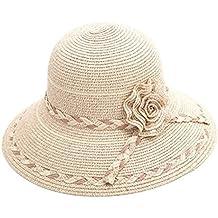 b8a7f4820ce5c Sun Hat Sombrero de Paja del Verano de Las Mujeres