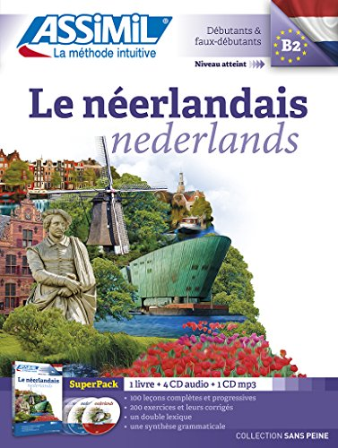 Le Néerlandais: livre + 4 CD audio