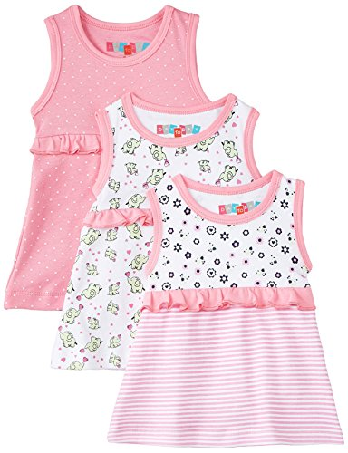 Day 2 Day Baby Girls' Dress (263957242_Multi colored_12-18 months)(Pack of 3)