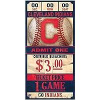 WinCraft Cleveland Indians MLB Ticket Schild