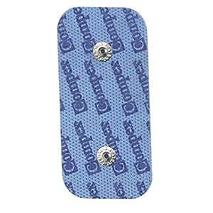Electrodes Cefar Compex avec connecteurs Snaps 2 électrodes rectangulaires 50 x 100 mm