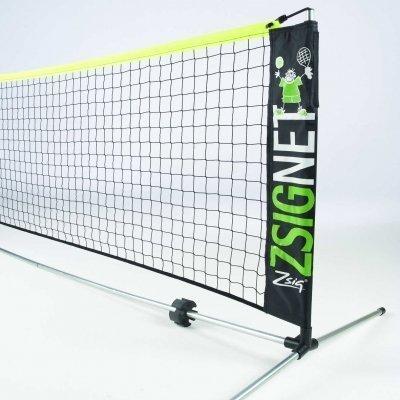 Z-Sig ZSIG Langlebig Ausrüstung flo-Coated Portable Mini Tennis Net System (Tennis Portable Net)