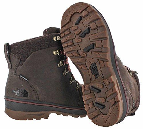The North FaceM Ballard Duck Boot - Stivali di protezione  Uomo Marrón / Rojo