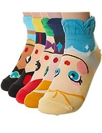 Carcasa de vídeo de dibujos animados de Character calcetines de la serie diseño de princesas Disney