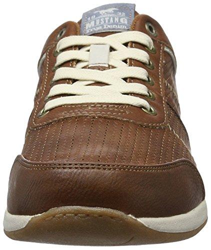 Mustang 4114 301, Sneakers Basses Homme Marron (301 Kastanie)