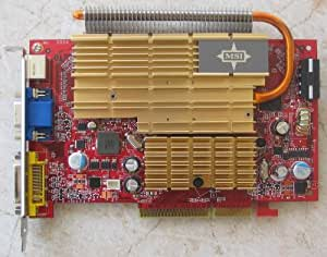 MSI NX7600GT Carte graphique nVidia AGP 8X DDR2 512 Mo