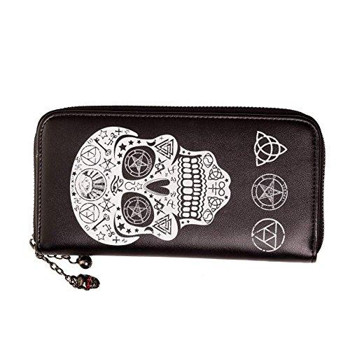 Banned Pentagram Skull Wallet