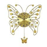 20-Zoll-Gartenschaukel Uhr modernen minimalistischen stumm Quartz Wanduhr 66 * 58 cm
