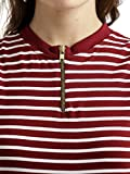 Miss-Chase-Womens-Maroon-and-White-Striped-Bodycon-Dress