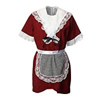 ADULT TRADITIONAL WELSH LADY COSTUME SET FOR ST DAVID
