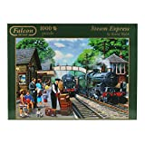 Jumbo 11027 - Falcon - Steam Express, 1000 Teile Puzzle