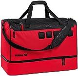 Erima »Graffic 5-C« Sporttasche mit Bodenfach S, rot/schwarz