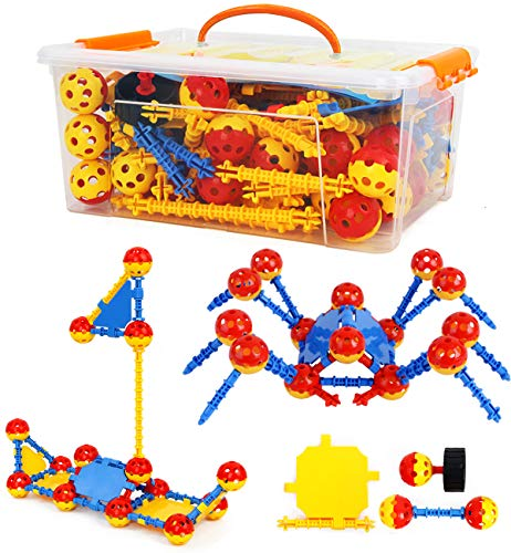 Smarkids Educational Building Toys For Kids Learning Creative Construction Toys Fun Building Blocks Toys Set Gift for Boys and Girls Ages 3 4 5 6 7 8 9 10 Year Old