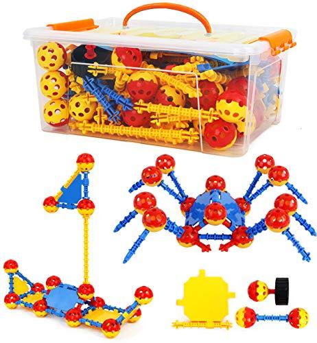 Smarkids Pädagogische Gebäude Spielzeug für Kinder Lernen Kreative BAU Spielzeug Spaß Bausteine Spielzeug Set Geschenk für Jungen und Mädchen Alter 3 4 5 6 7 8 9 10 Jahre (Mädchen-bau-spielzeug)