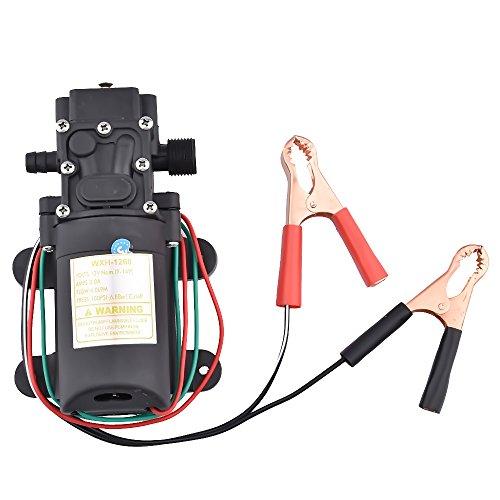 Menea 12V trasferimento pompa 4.0l/min 100psi pressione diaframma pompa autoadescante per estrattore fluido olio diesel elettrica sifone auto moto
