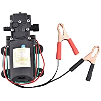 MEAOR - Bomba de diafragma de 12 V, 60 W, 100 PSI, autocebante, para transferencia de líquidos, para coche o moto