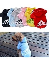 Perros Accesorios Zolimx Mascota Perro Cachorro Cl/ásico Chaleco Camiseta Ropa para Perros Chaleco a Rayas Ropa Verano