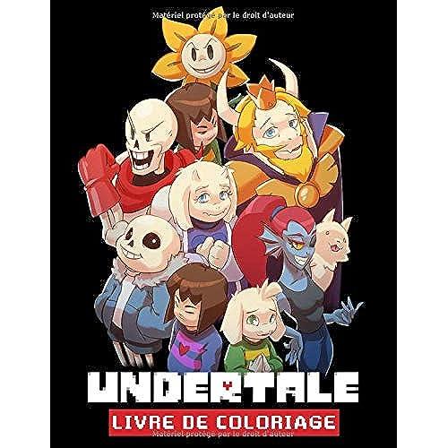 By Molly Mahon Undertale Livre De Coloriage Livre De Coloriage Pour Enfants Et Adultes Pdf Epub Telecharger