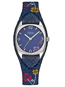 s.Oliver Damen-Armbanduhr SO-2381-LQ
