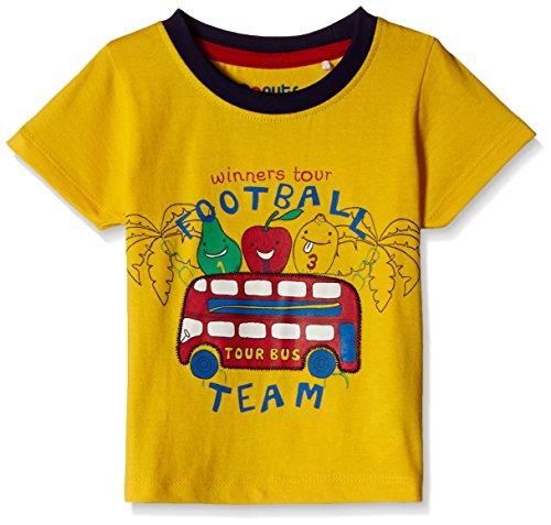 Donuts Baby Boys T-Shirt (267619865_Yellow_18M)