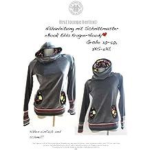 Edda Nähanleitung mit Schnittmuster für Sweatshirt in Gr. 30-50 [Download]