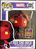 Funko 20370 – Marvel Pop Vinyl Figure 231 Red She-Hulk SDCC Summer Convention Exclusives