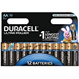 Duracell Ultra Power Alkaline Batterien mit Powercheck AA (MX1500/LR6) 12 Stück Pack