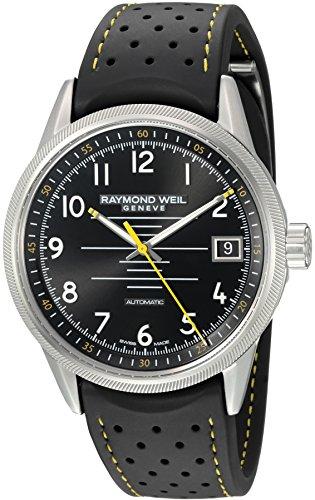 raymond-weil-homme-41mm-bracelet-caoutchouc-automatique-montre-2754-sr-05200