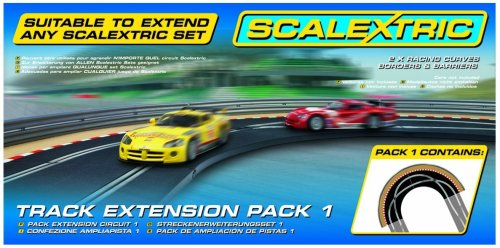 Scalextric NEW C8510 TRACK EXTENSION PACK KIT 1